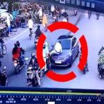 NagpurNewsUpdate : धक्कादायक : गृहमंत्र्यांच्या शहरातही कार चालकाने वाहतूक पोलिसाला बॉनेटवर फरफटत नेले