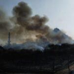 AurangabadNewsUpdate : दौलताबाद किल्यात आग, ८ तासाच्या परिश्रमानंतर आग आटोक्यात