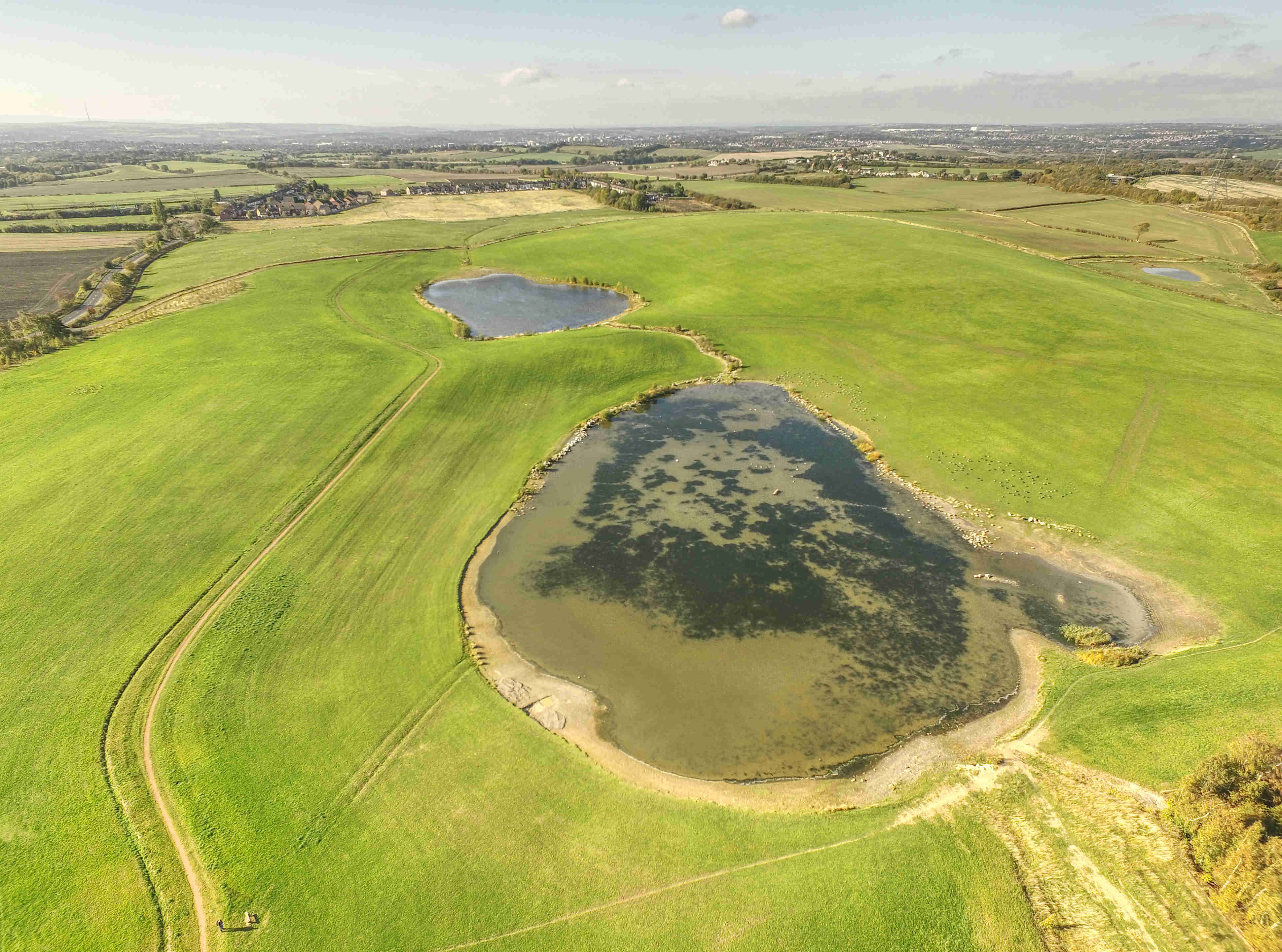 Sharlston Drone Picture