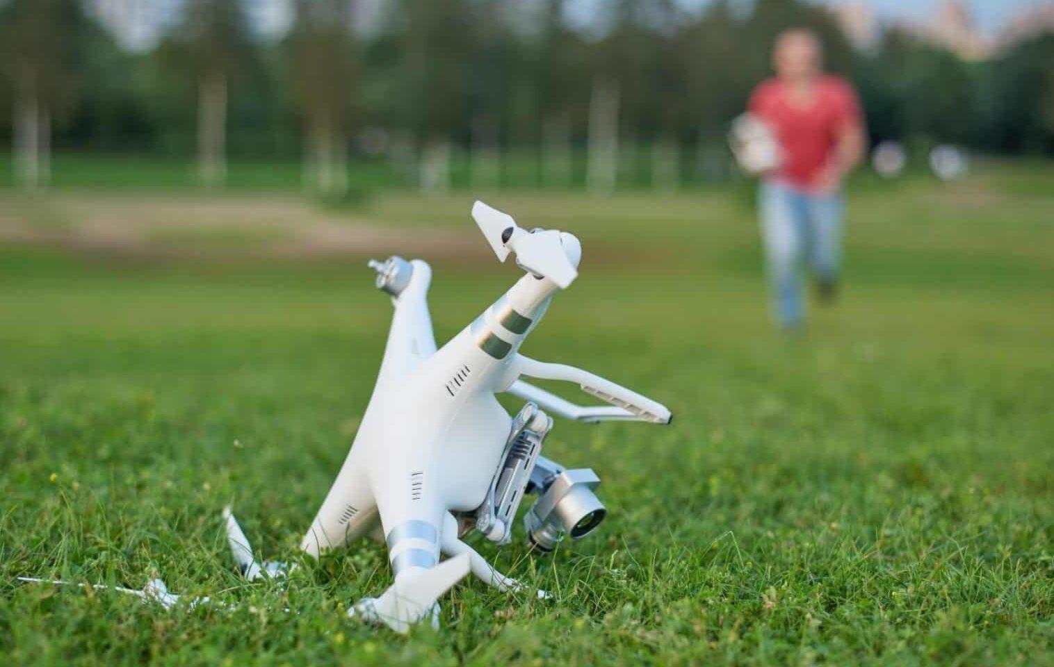 Drone crash - Drone Insurance