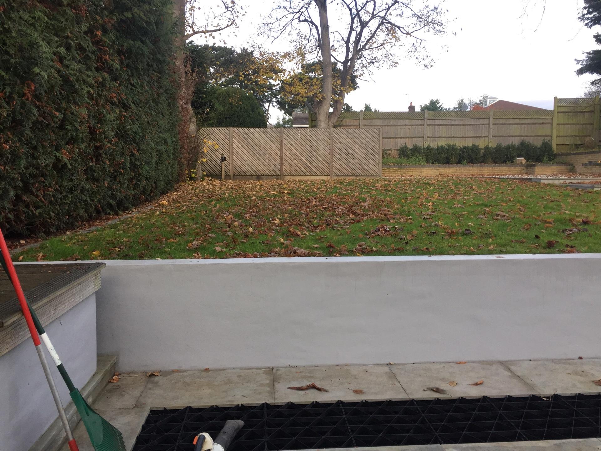 Before Garden Maintenance