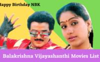 Balakrishna Vijayashanthi Movies List