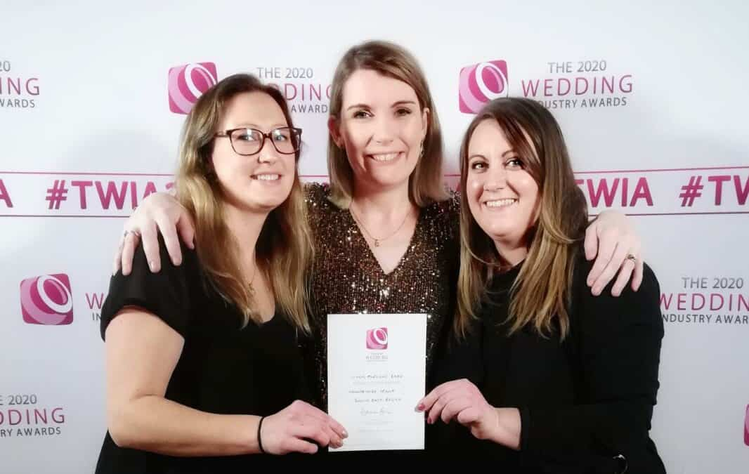 Long Furlong Barn have won the Regional 'Highly Commended' Accolade for Countryside Venue – South East!