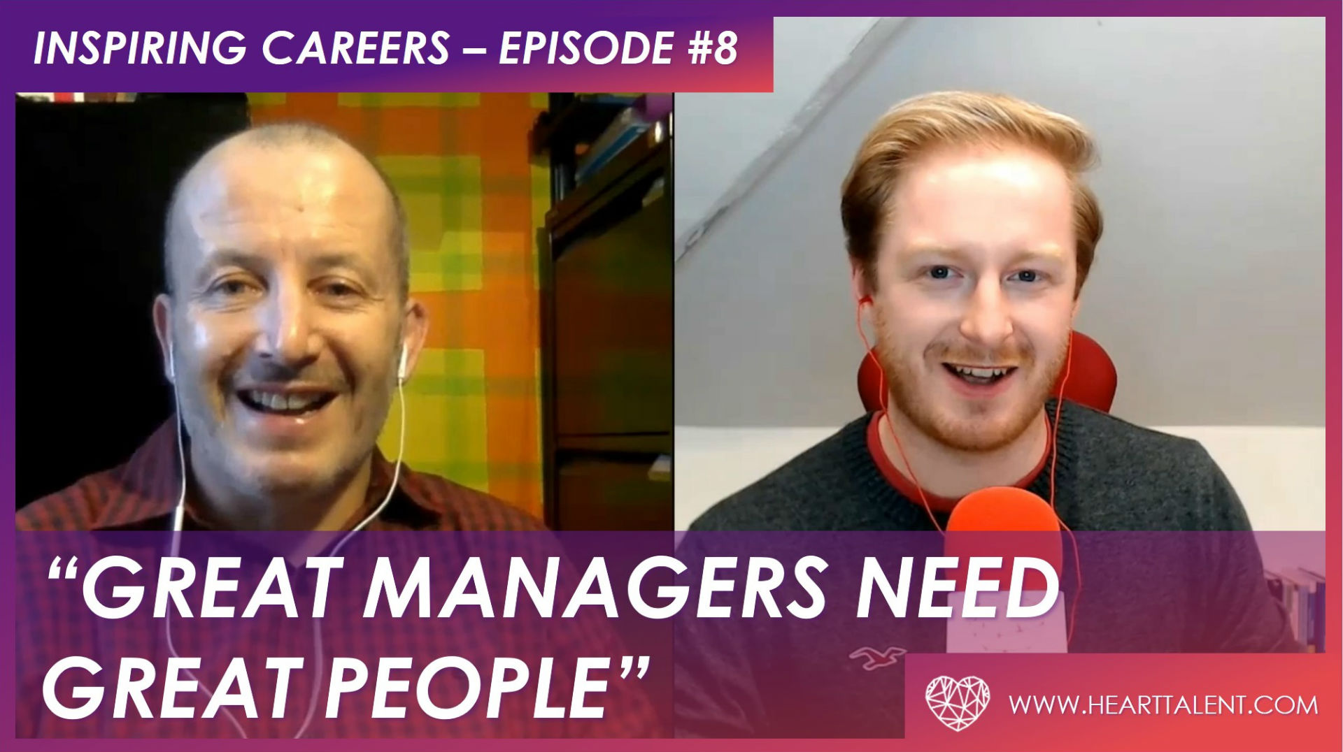 Check out Heart Talent's latest episode of Inspiring Careers!