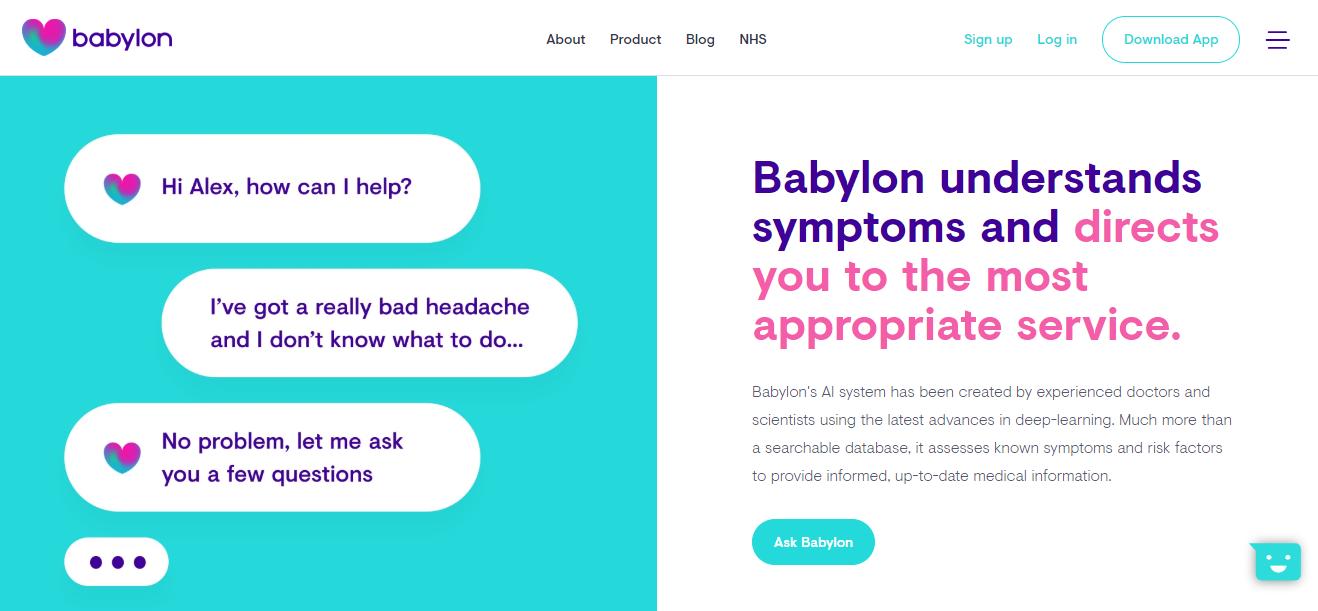 Babylon website