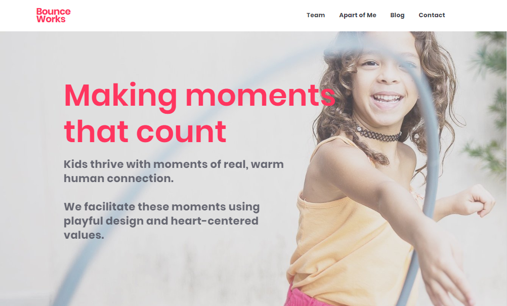 Bounce Works website
