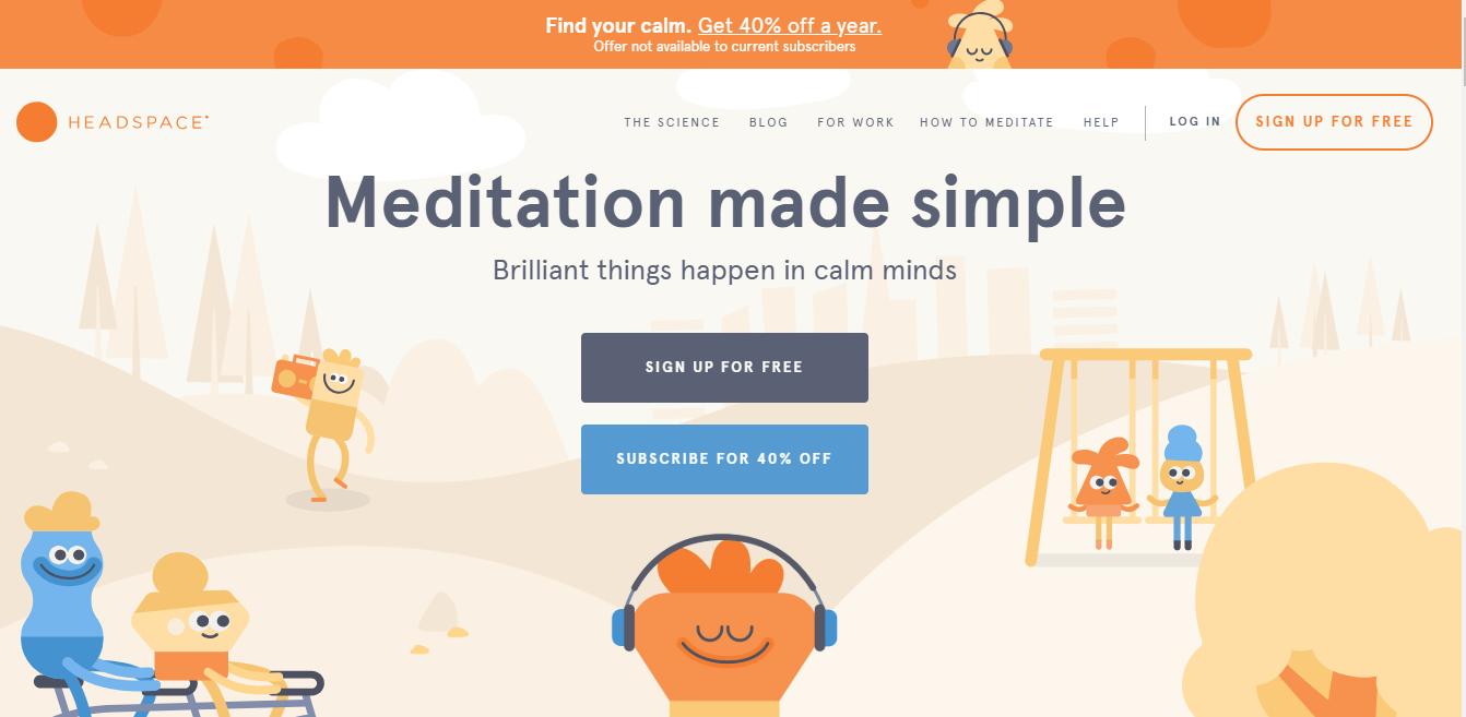 Headspace web