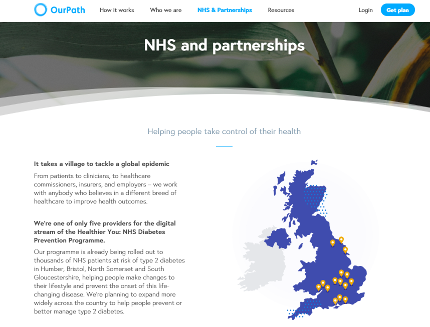 Our Path website