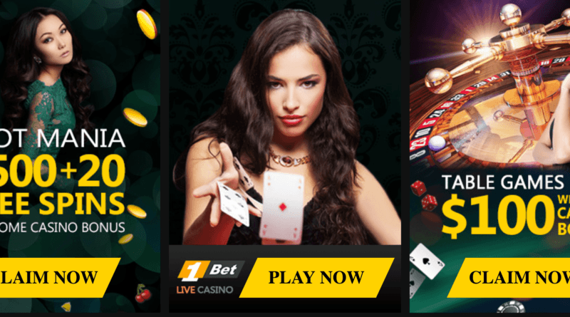 bonus 1bet casino