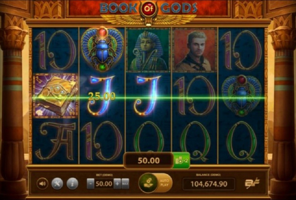simboli Book of Gods Slot Machine