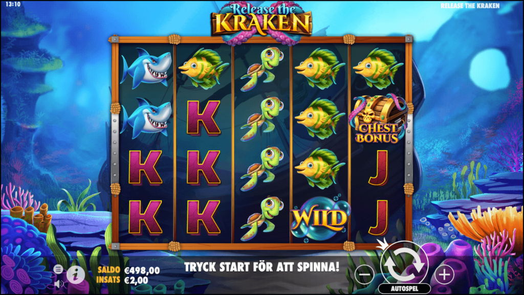 simboli Release the Kraken Slot Machine