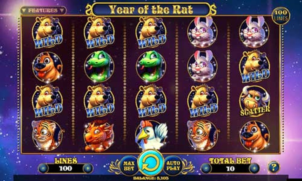 simboli Year of the Rat Slot Machine