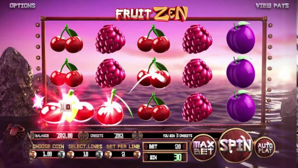 simboli Fruit Zen Slot Machine