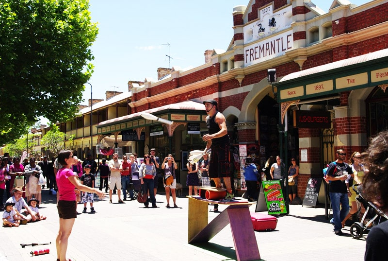 Fremantle Market and Cappuccino Strip