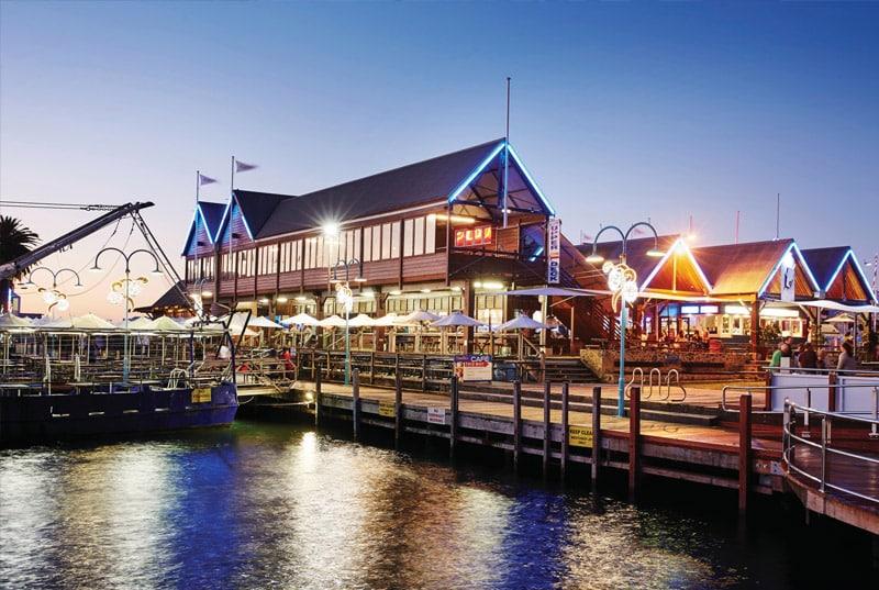 Fremantle harbour