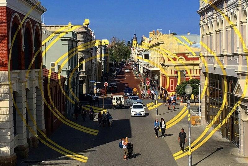 Fremantle town centre