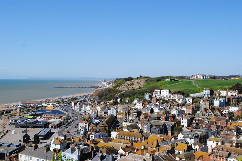 Hastings from East Hill