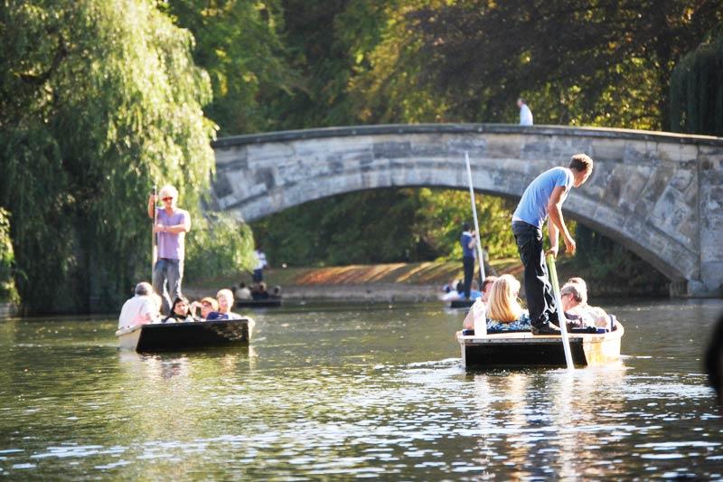 Punting in Cambridge