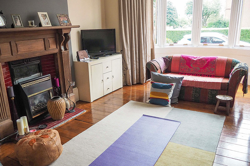 A typical living room