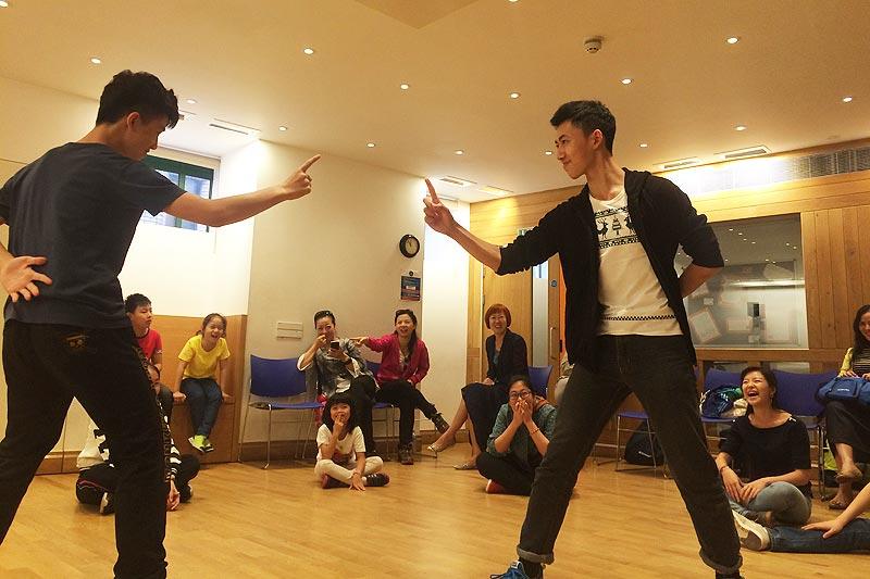 Globe Theatre Romeo and Juliet workshop