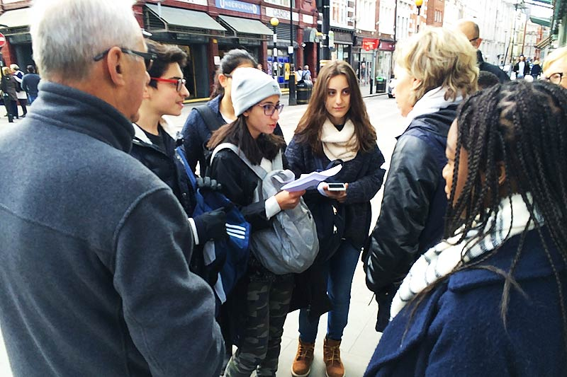 The future of media - interviewing locals on the street