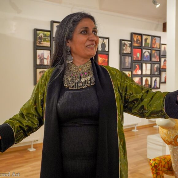 Seema Kohli's Celestial Revelations opens at Radhadesh