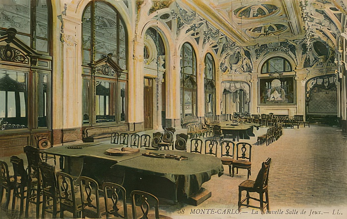 The Monte Carlo casino in 1913 where the gambler's fallacy took place