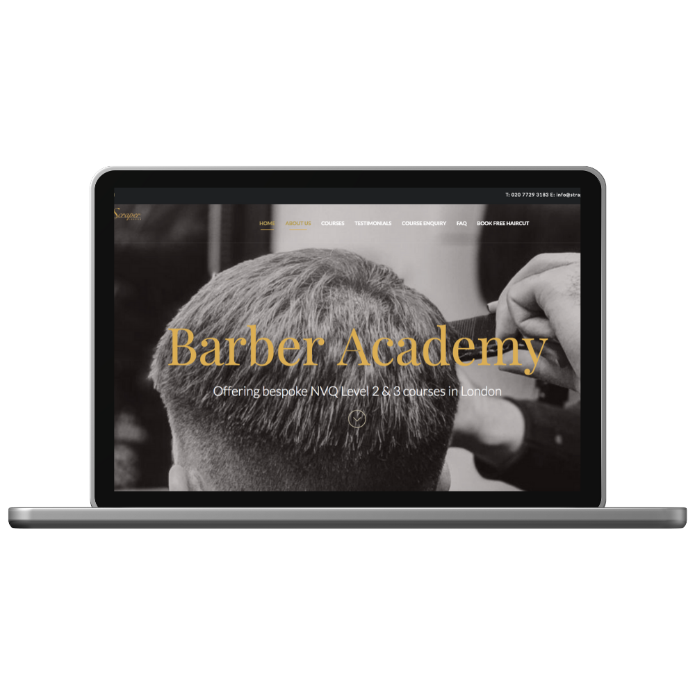 london barber courses
