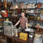 Daily Express Victorian house 1920 shop grocers