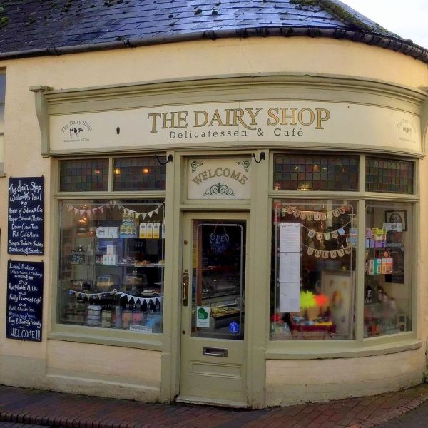 The Dairy Shop in Church Street Sidmouth