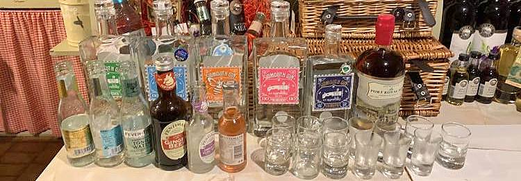 A wide variety of Sidmouth Gin