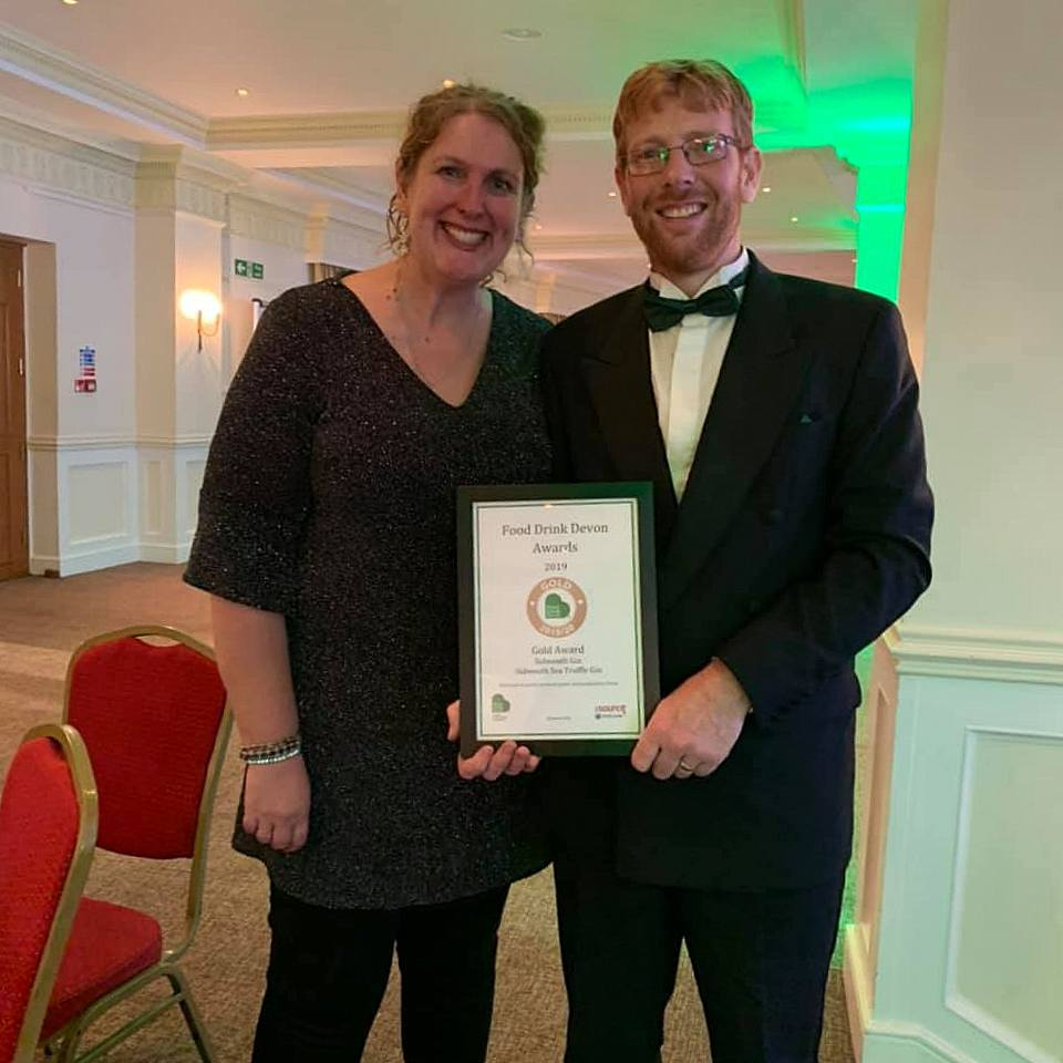 Sidmouth Gin - a winner at the Food Drink Devon Awards 2019