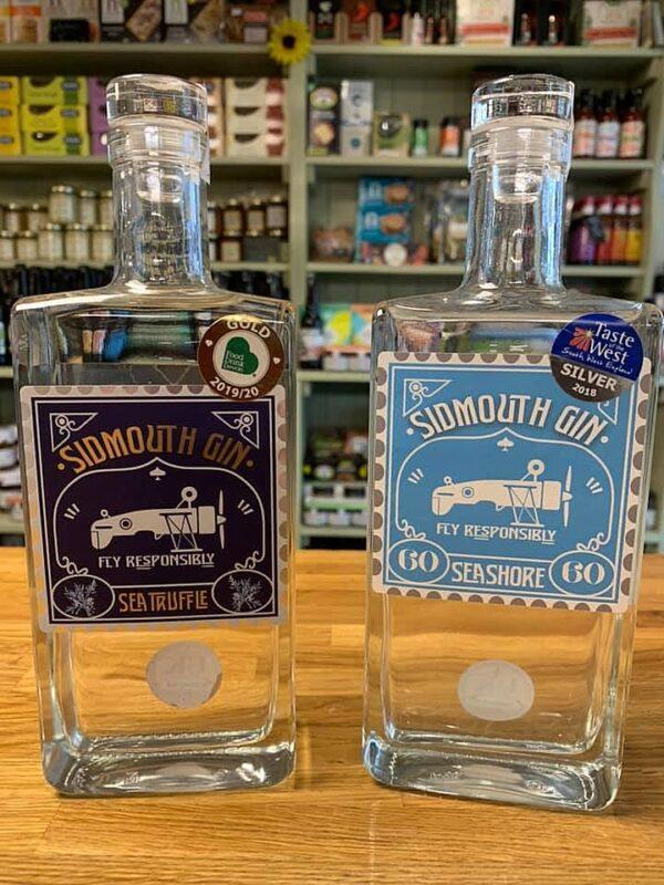 Award winning Sidmouth Gin - sea truffle and seashore