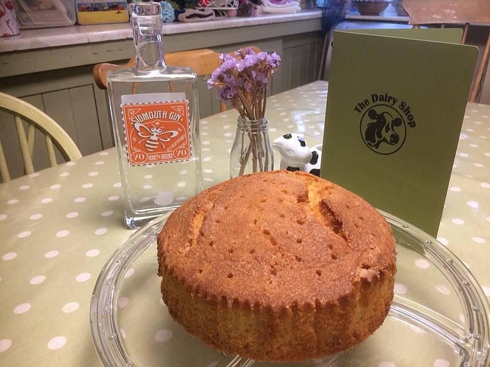 Honey & Orange Sidmouth Gin cake