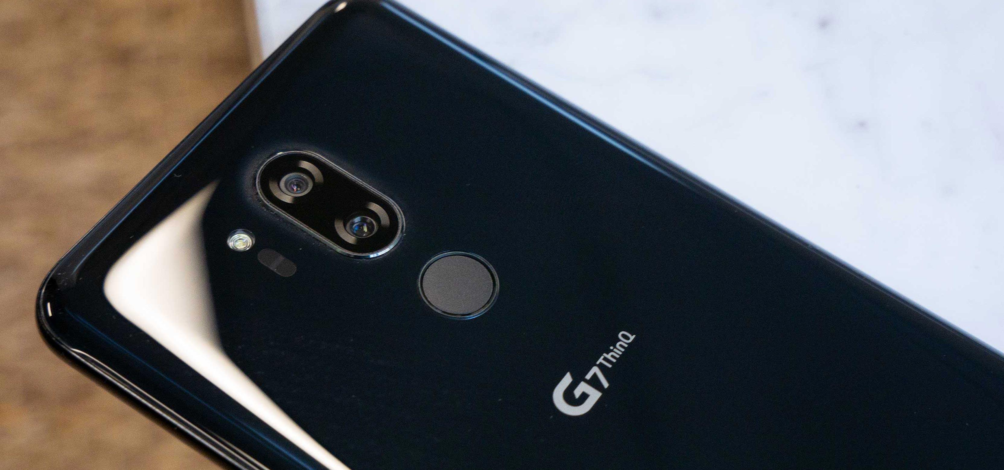 صورة هاتف LG V40 قد يأتي مع 5 كاميرات هذه السنة