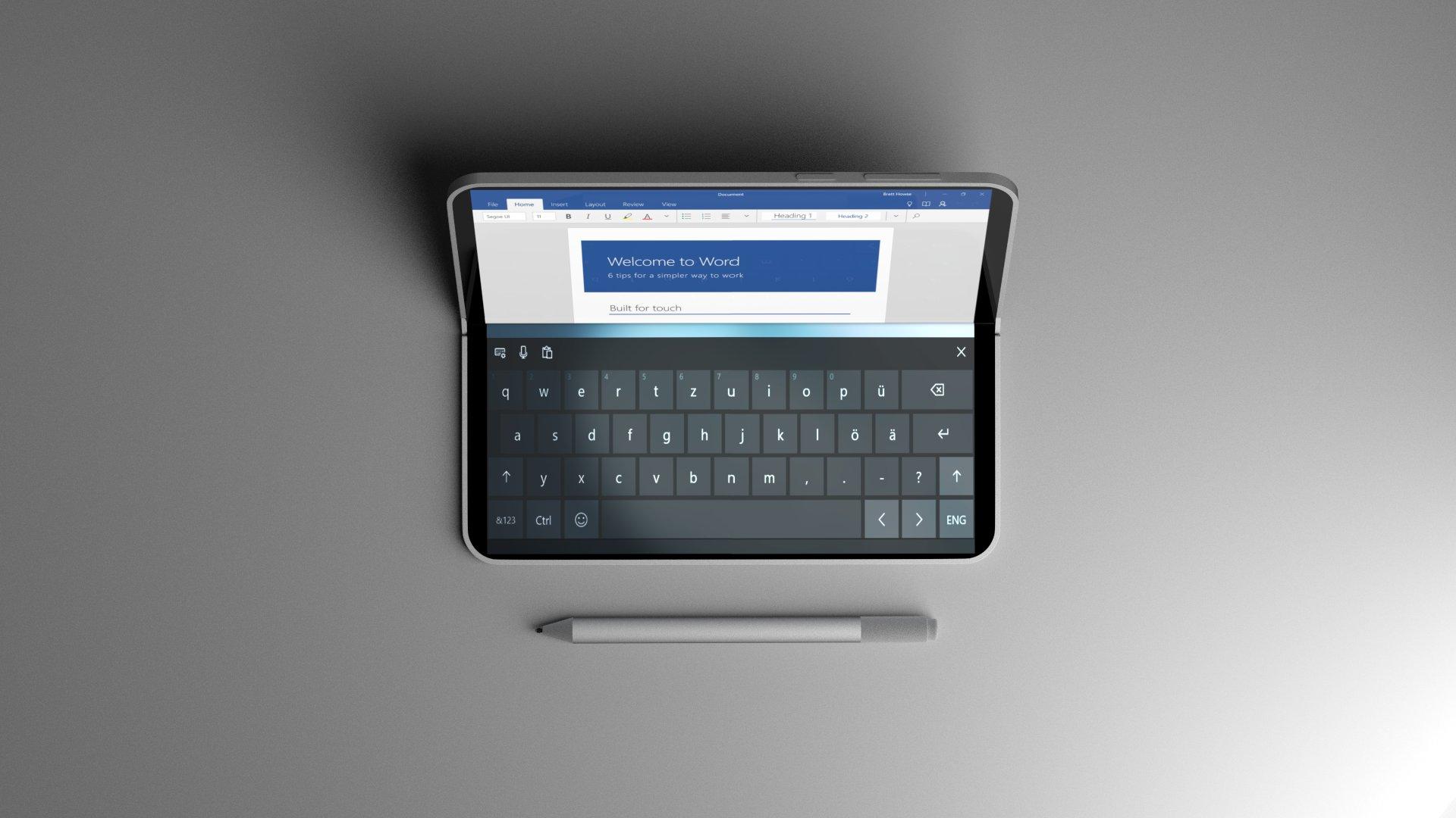 Photo of سيرفس الجديد من مايكروسوفت قابل للإنطواء وفي حجم الجيب