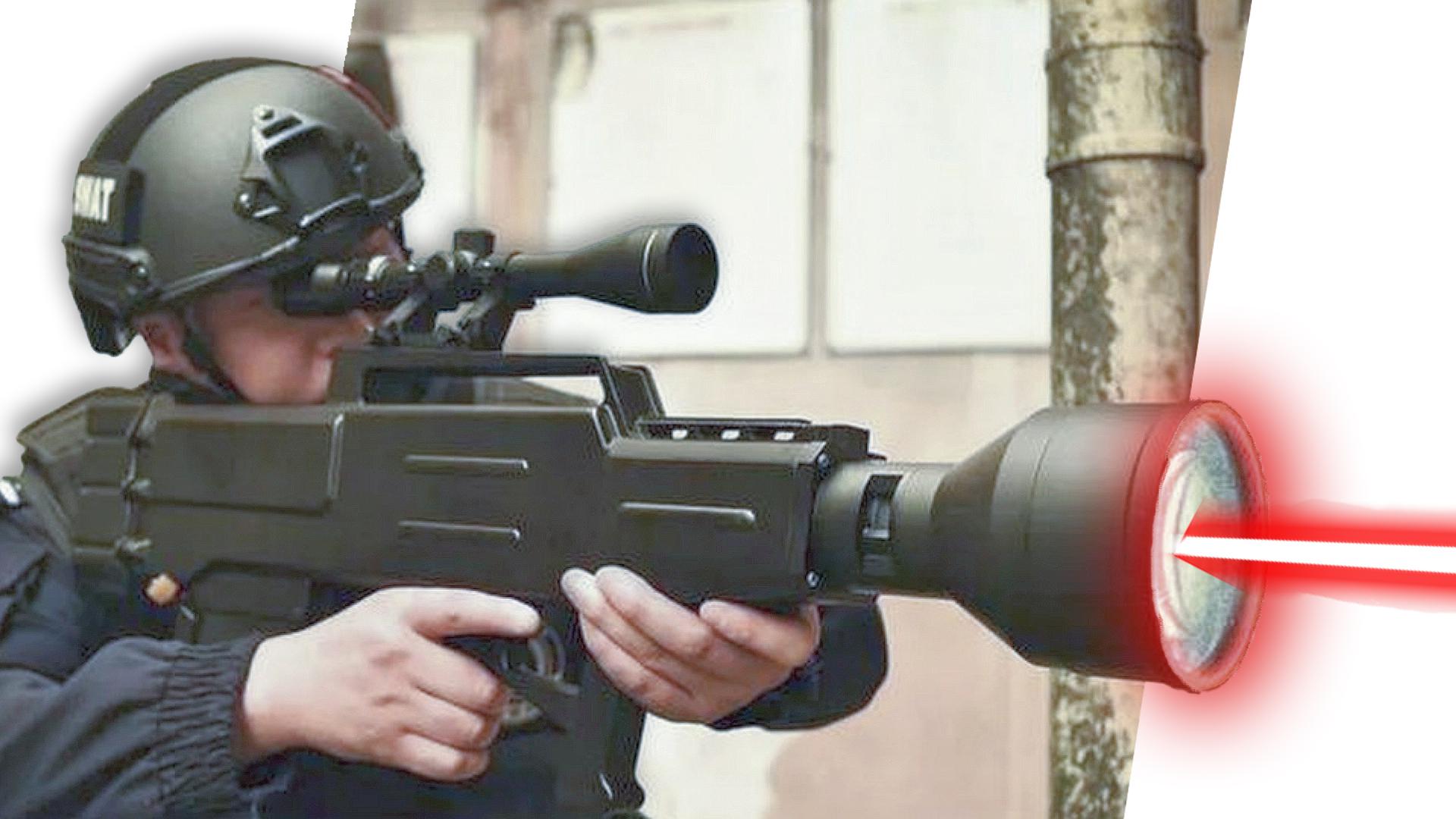 صورة الصين تخترع بندقية ليزر تصيب الهدف من 1000 متر وبدون ذخيرة