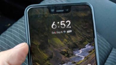 صورة شخص ما نسي هاتف Pixel 3 XL في سيارة أجرة