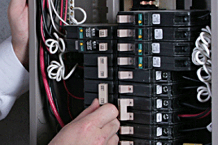 Electrical System Upgrades Service Panel Breaker Outlets Grounding Surge Protection
