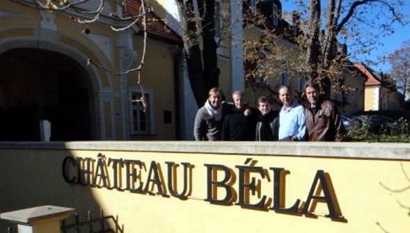 Chateau Bela - Hugues Lepin, Akos, Julien Moulin, Akos Hervai, Miroslav Petrech