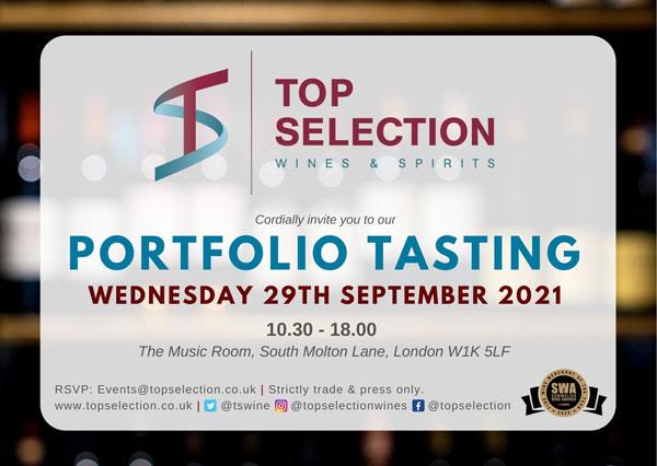 Top Selection Autumn Portfolio Tasting 2021