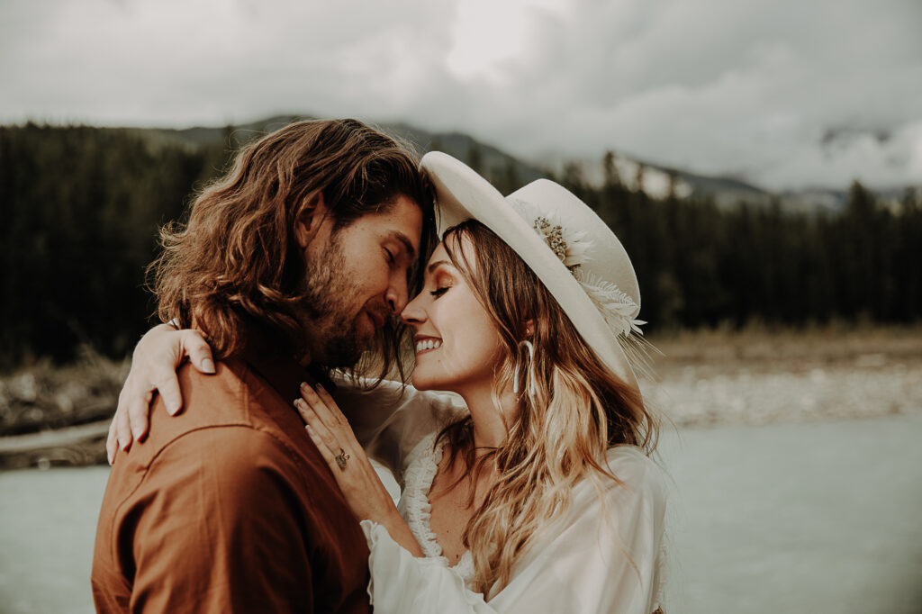 Bohemian elopement in the Rockies, Canada 5