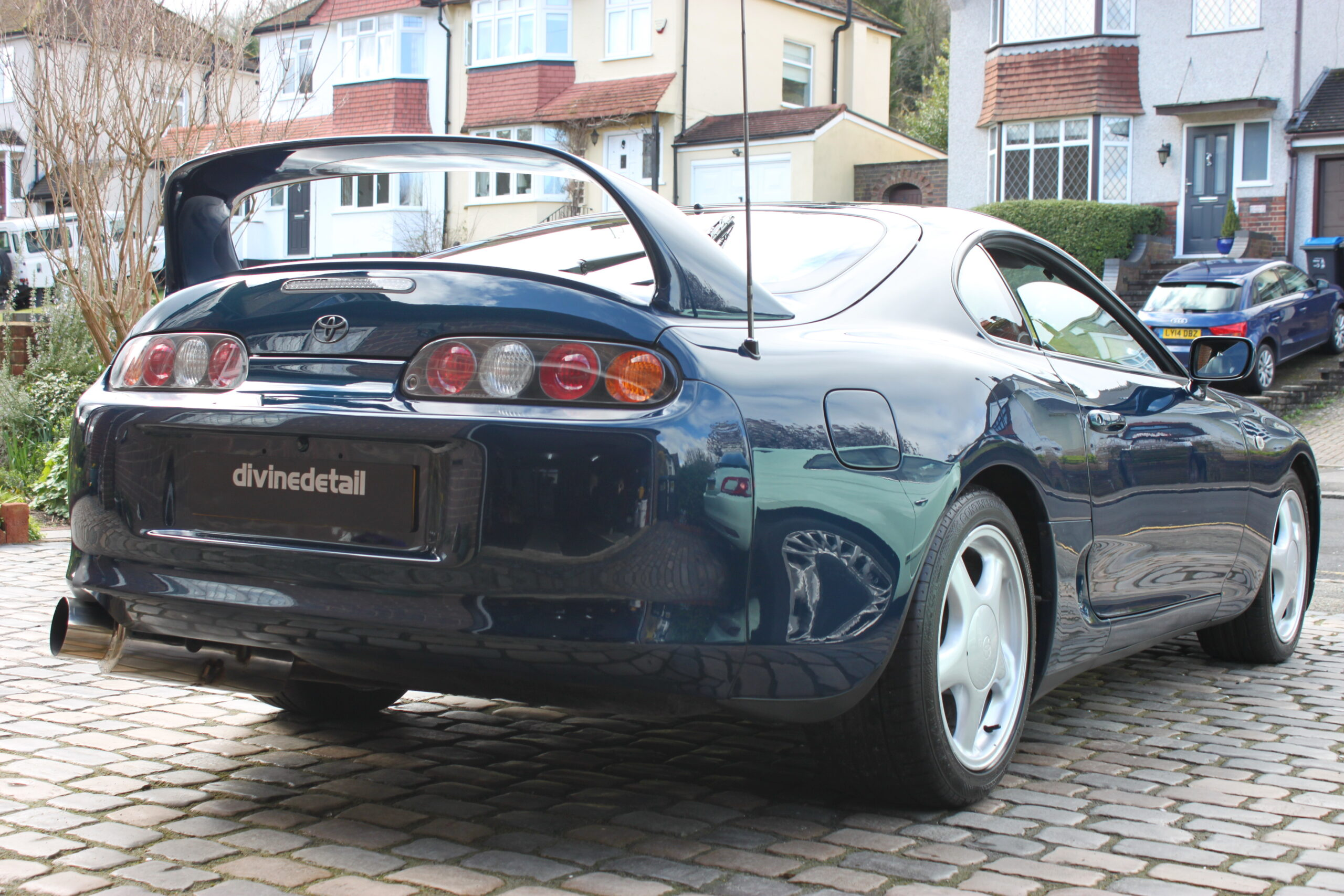 Toyota Supra detailing