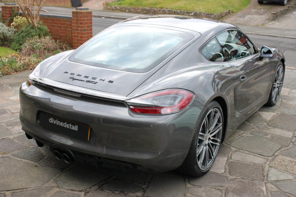 Porsche Cayman GTS detailed