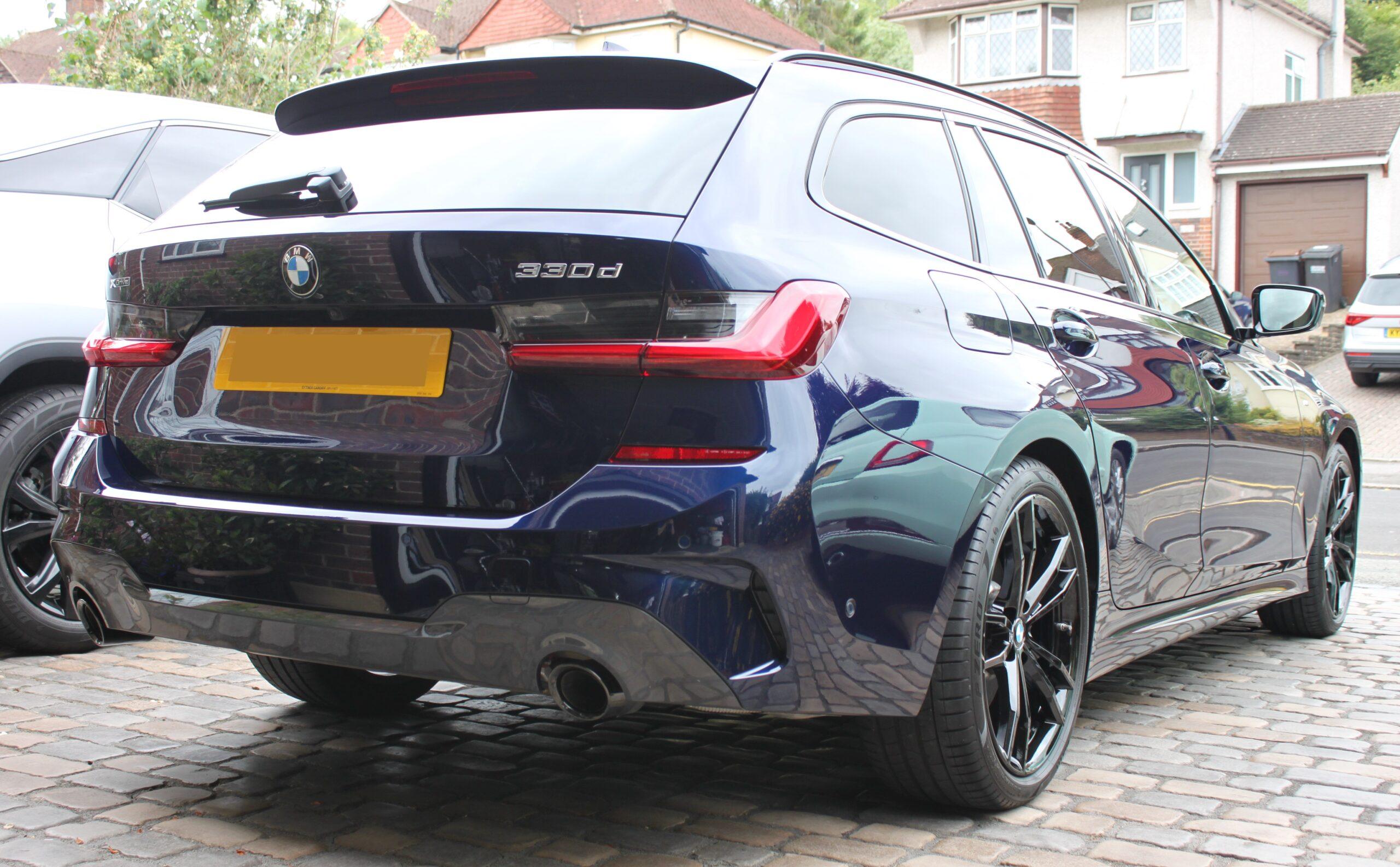BMW 330D New car detail