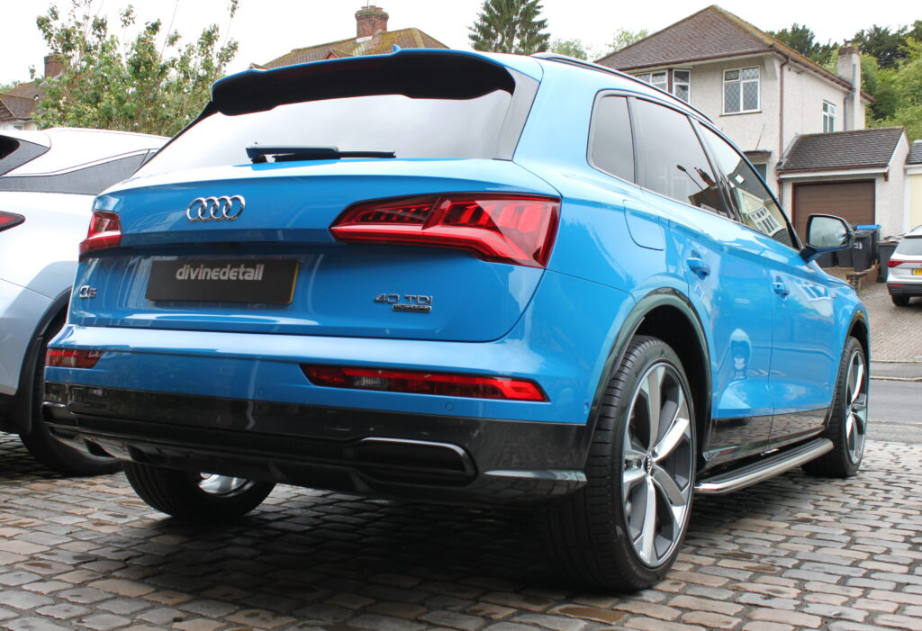 Audi Q5 New car detail