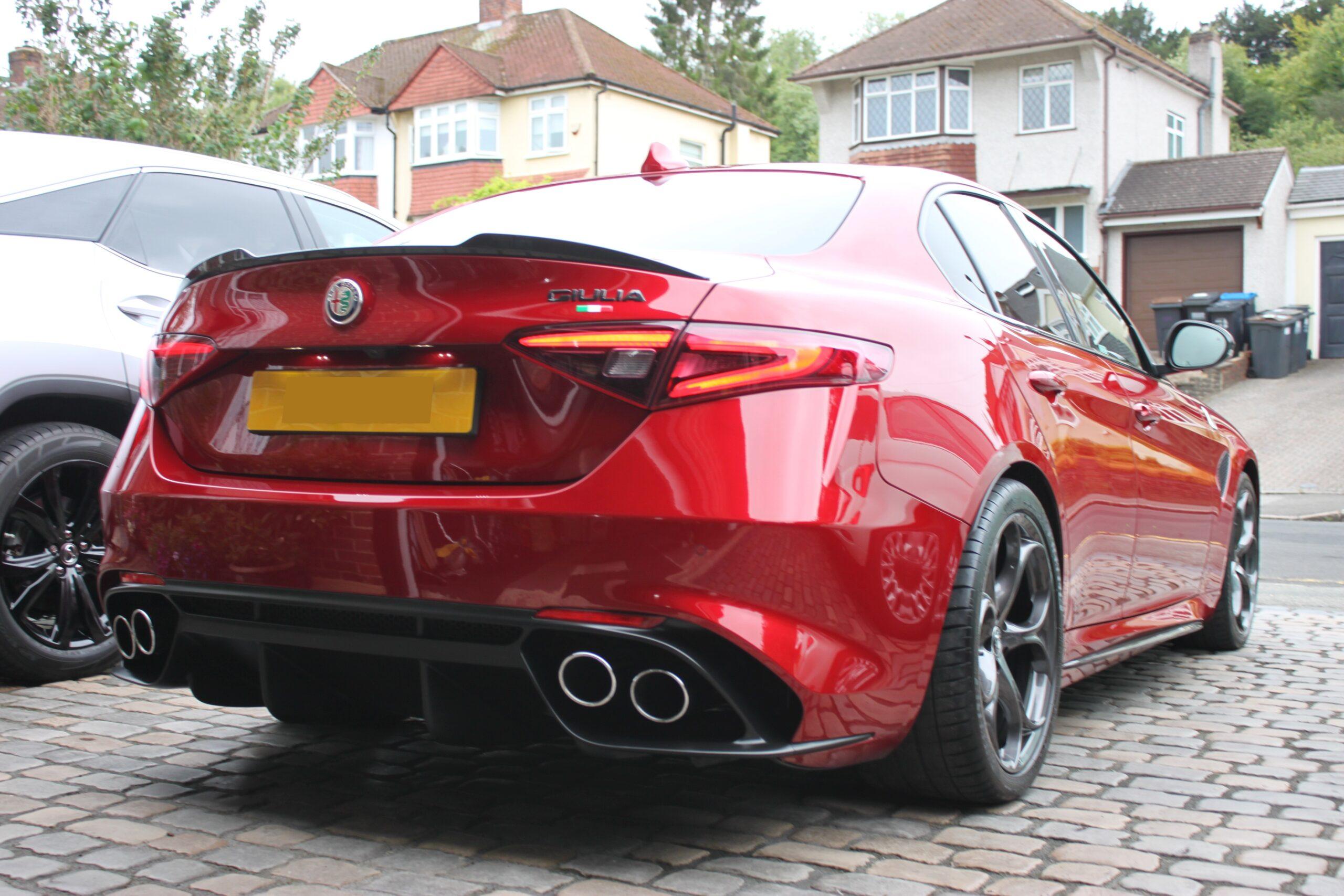 Alfa Giulia QV detailed