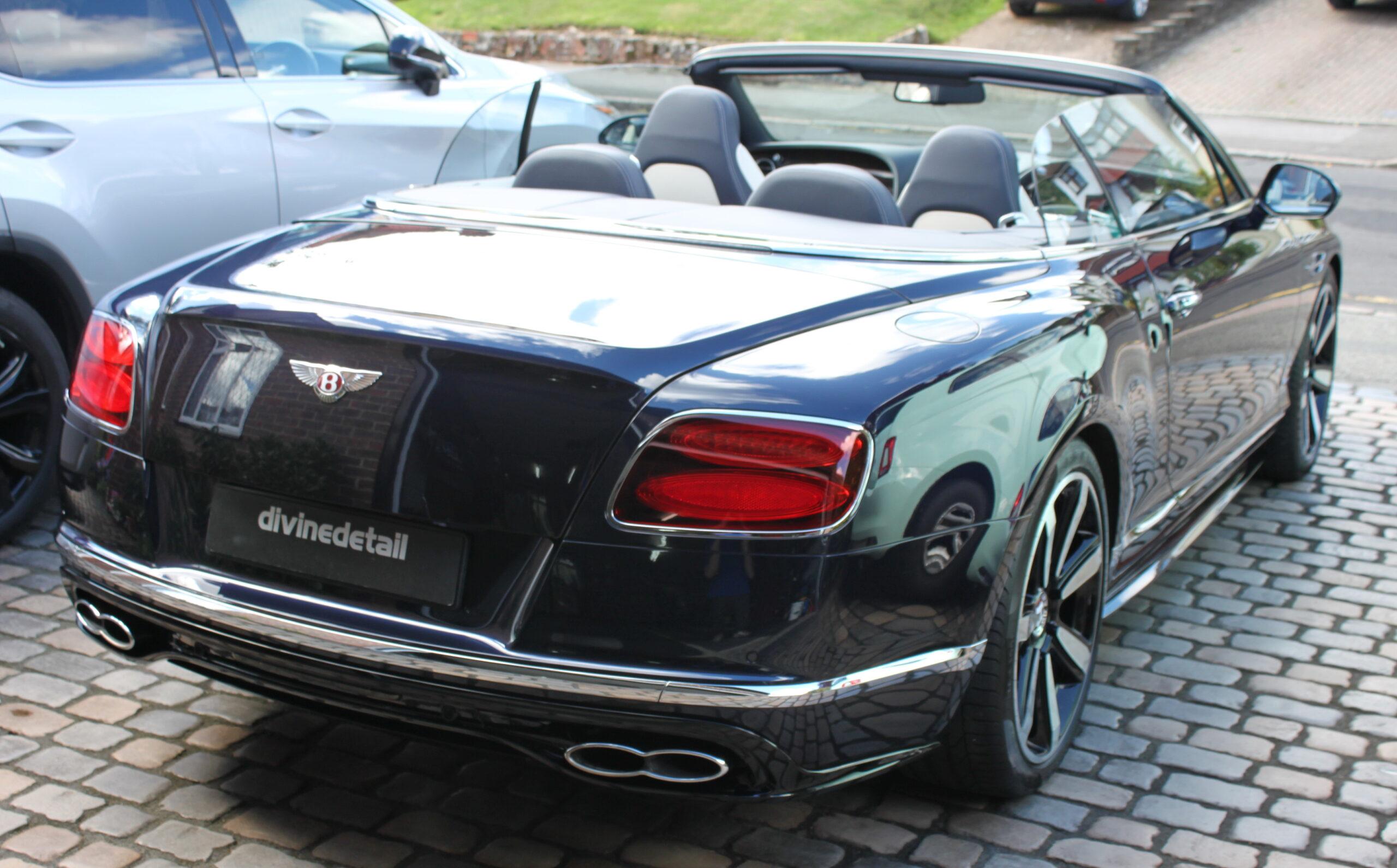 Bentley Continental GT New car detail