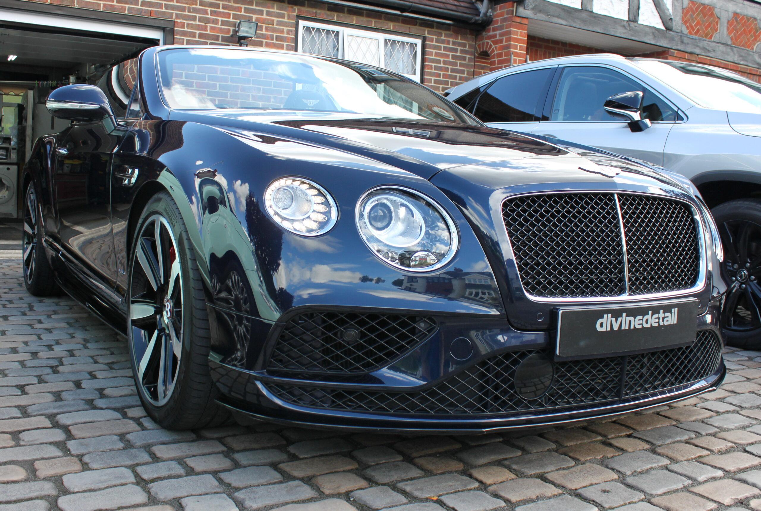 Bentley Continental GT detailing
