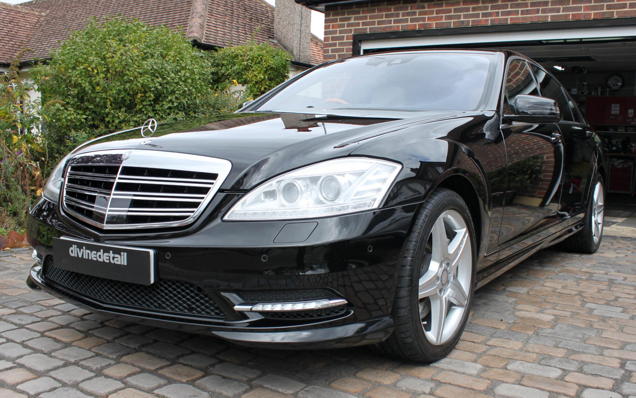 Mercedes S600 detailing